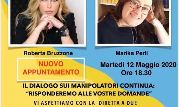 Roberta Bruzzone  e Marika Perli in diretta per parlare dei Manipolatori