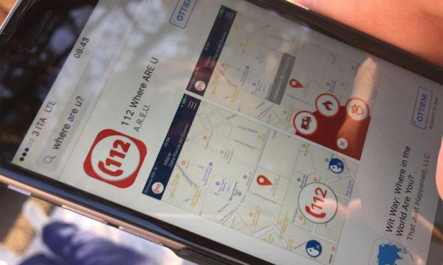 112 Where are U – L'App che ti salva la vita